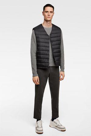 Zara Comfortabele gebreide broek