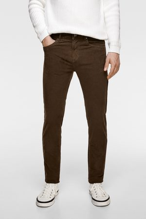 Zara Basic broek van corduroy