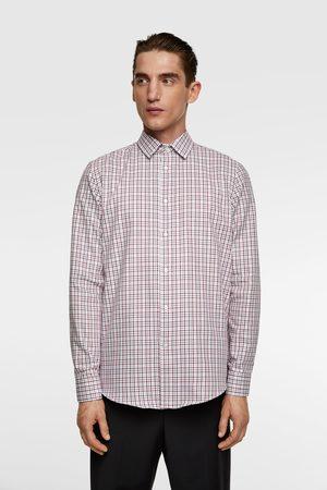 Zara Geruit overhemd