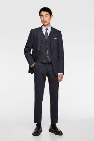 Zara Comfortabel cinzato kostuumgilet