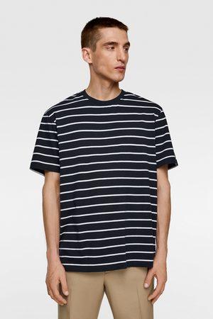 Zara Heren Shirts - Basic t-shirt met strepen