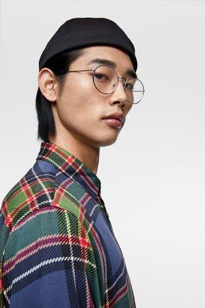 Zara Heren Overhemden - Soepelvallend geruit overhemd