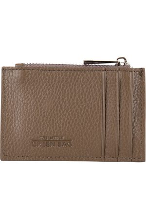 The Little Green Bag Dames Portemonnees - Portemonnees Oak Wallet Taupe