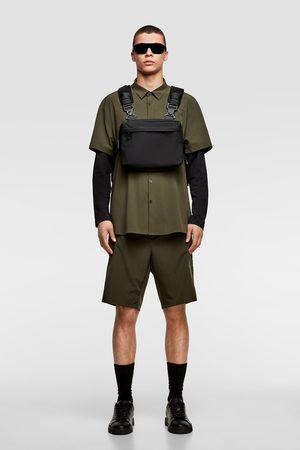 Zara Zwarte, multifunctionele schoudertas