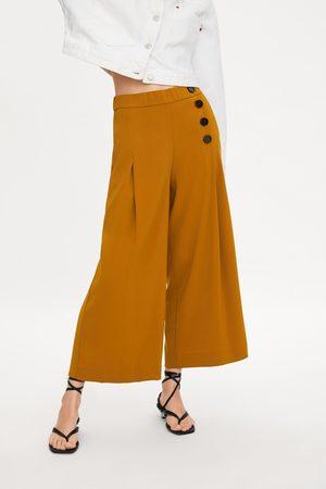 Zara Dames Pantalons - Cropped broek