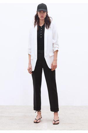 Zara Dames Blazers & Colberts - Blazer met oprolbare mouwen