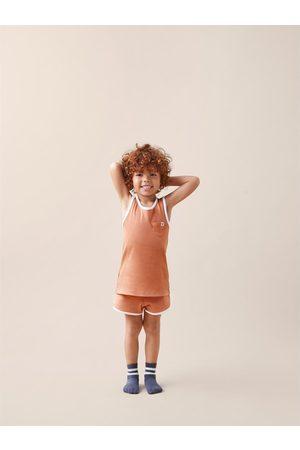 Zara Pyjama met label en rib