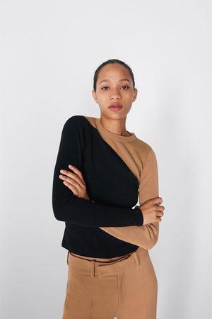 Zara Dames Truien - Trui met kleurblok