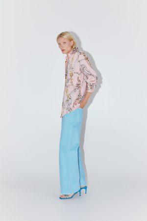 Zara Knot print shirt