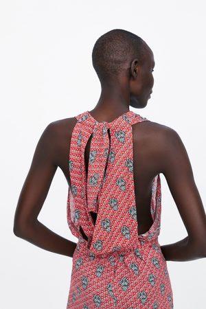 Zara Jumpsuit met print en koord