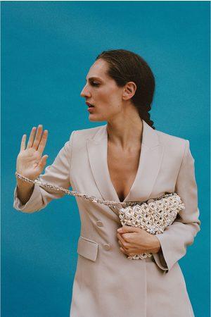 Zara Dames Tassen - Tas met schelpen in limited edition