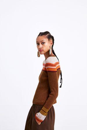 Zara Tricot trui met glans