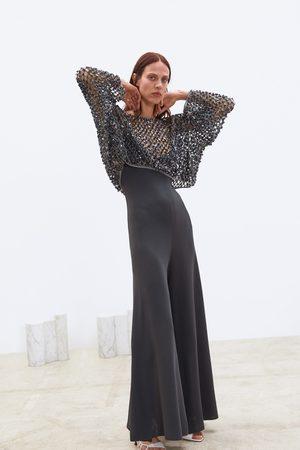 Zara Netstoftrui met lovertjes in limited edition