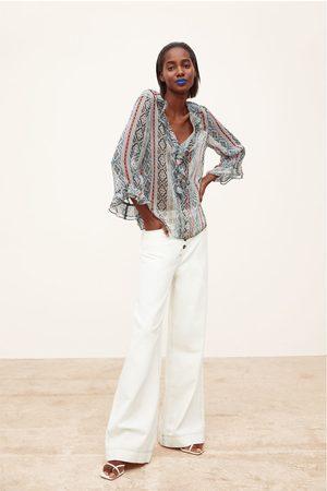 Zara Blouse met print