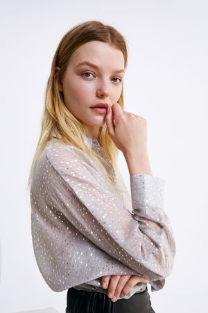 Zara Overhemd met glans