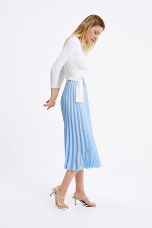 Zara Trui met strik in de taille