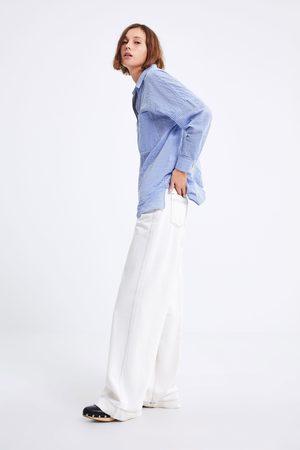 Zara Oversized overhemd met strepen