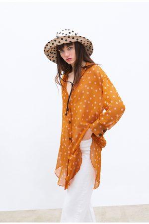Zara Overhemd met stippenprint