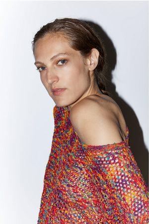 Zara Kleurrijke trui met structuur