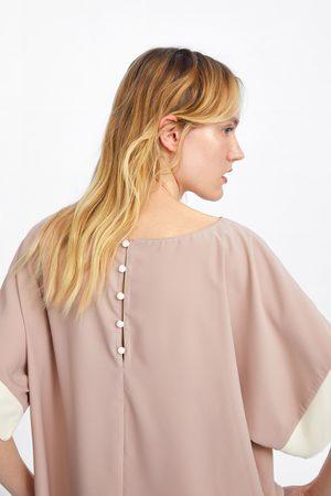 Zara Overhemd met kleurblokken