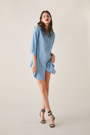 Zara Lange denim blouse