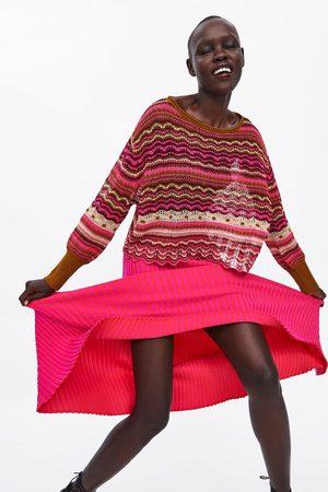 Zara Tricot trui met ajour