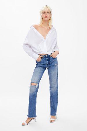 Zara Popeline blouse