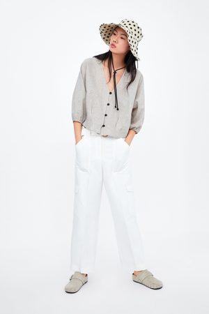 Zara Rustiek overhemd met knopen
