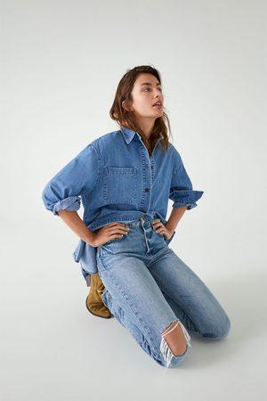 Zara Jeans zw premium real straight sunrise blue