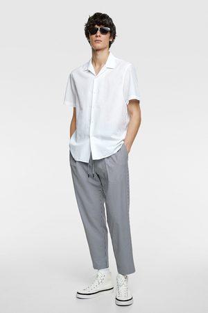 Zara Seersucker overhemd