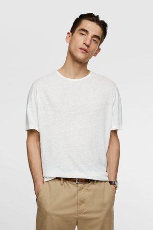 Zara Linnen t-shirt