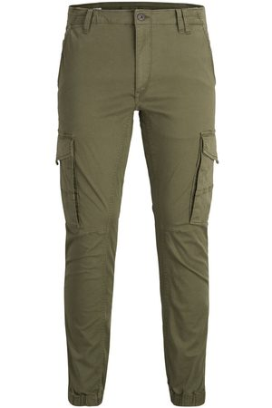 Jack & Jones Paul Flake Akm 542 Cargo Broek Heren Green