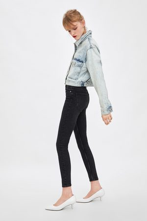 Zara Vintage jegging met hoge taille