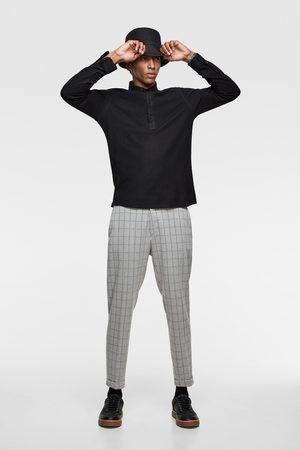 Zara Comfortabel overhemd met tricot structuur