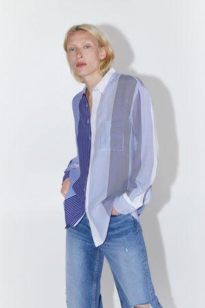 Zara Gestreepte blouse
