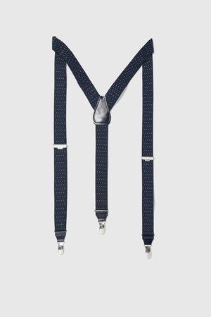 Zara Jacquard bretels met stippenprint