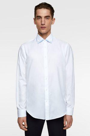 Zara Overhemd met dubbele kraag