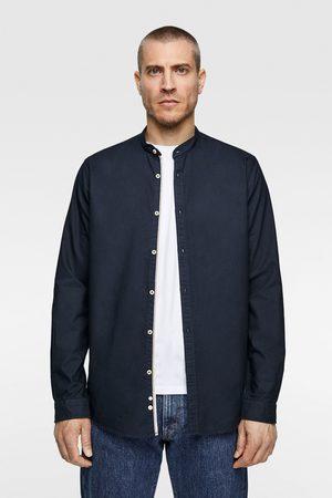 Zara Heren Overhemden - Oxford overhemd met maokraag