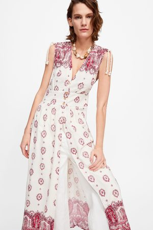 Zara Tuniek met print en borduursels