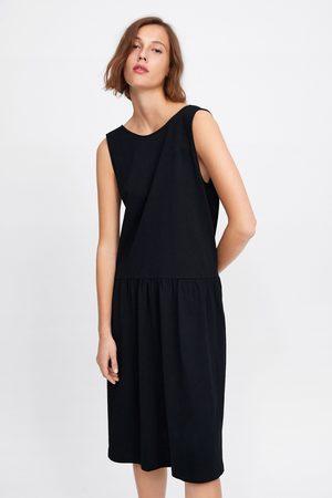 Zara Dames Jurken - Mini-jurk met volant