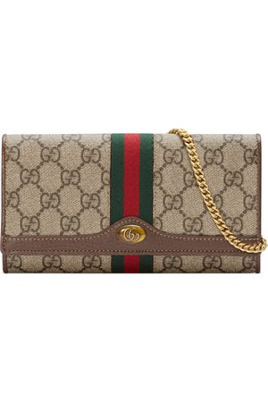 Gucci Dames Portemonnees - Ophidia GG chain wallet