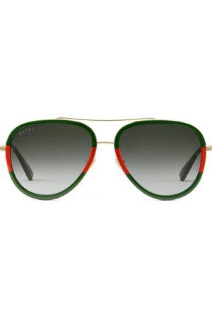 Gucci Zonnebrillen - Aviator metal sunglasses