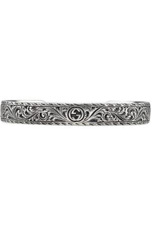 Gucci Bracelet in silver with feline head