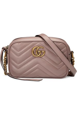 Gucci Dames Handtassen - GG Marmont matelassé mini bag