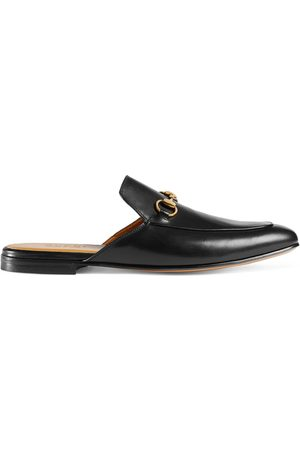 Gucci Leather Horsebit slipper