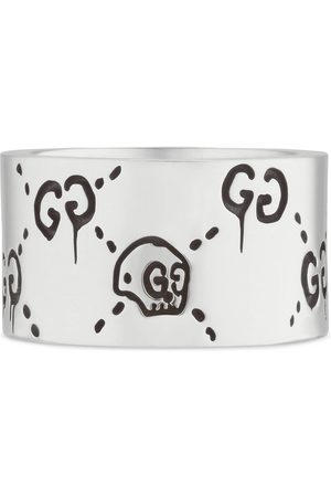 Gucci Ghost ring in silver