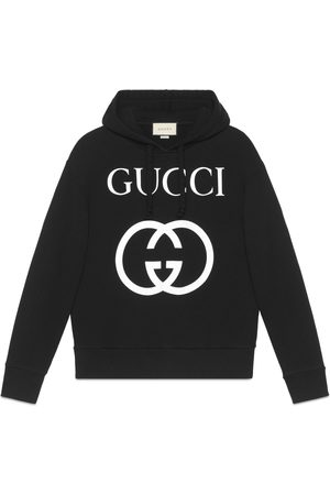 Gucci Heren Sweaters - Hooded sweatshirt with Interlocking G