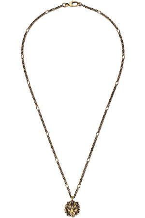 Gucci Dames Kettingen - Necklace with lion head pendant