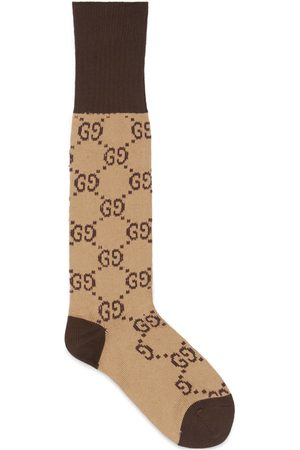 Gucci Heren Sokken & Kousen - GG pattern cotton blend socks