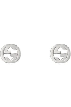 Gucci Interlocking G earrings in silver